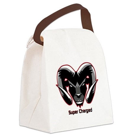 Super Charged Ram Style Mousepad Canvas Lunch Bag