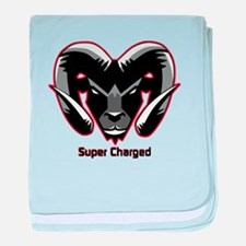 Super Charged Ram Style Mousepad baby blanket