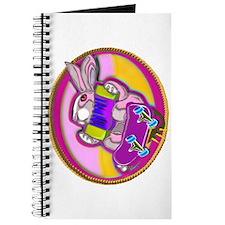Skateboarding Bunny! Journal