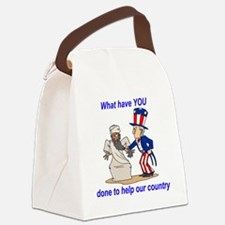 what-haveyoudone Canvas Lunch Bag