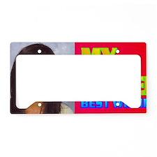 3-Rifqa Bary(small framed pri License Plate Holder