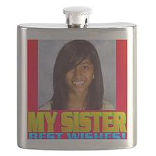 3-Rifqa Bary(square) Flask
