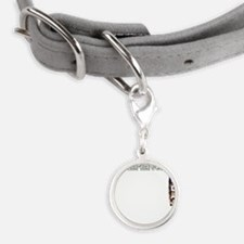 sth3sidehinge Small Round Pet Tag
