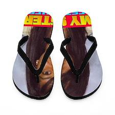 Rifqa Bary(small poster) Flip Flops