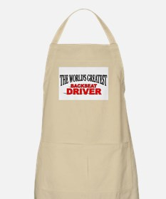 """The World's Greatest Backseat Driver"" BBQ Apron"