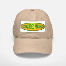 I Conquered Anorexia Baseball Baseball Cap