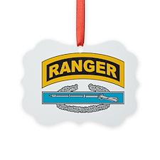 CIB with Ranger Tab Ornament