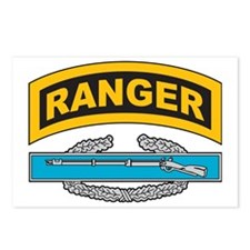 CIB with Ranger Tab Postcards (Package of 8)