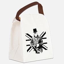 Churchill Flag Canvas Lunch Bag