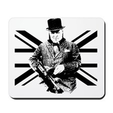 Churchill Flag Mousepad