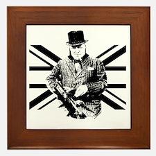 Churchill Flag Framed Tile