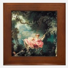 fragonard-swing_13-5x18 Framed Tile