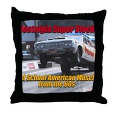 NSS-Wagon-Cover Throw Pillow