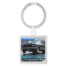 NSS-Coronet-Cover Square Keychain