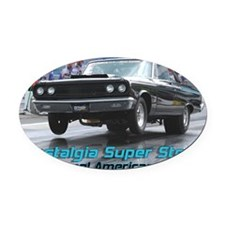 NSS-Coronet-Cover Oval Car Magnet