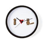 """""""I Love Beaver"""" Wall Clock"""