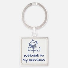 Welcome png Square Keychain