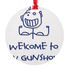 Welcome png Ornament