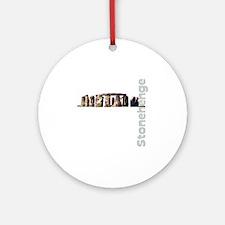 ston1 Round Ornament