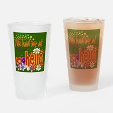 Had Me At Hello gree Drinking Glass