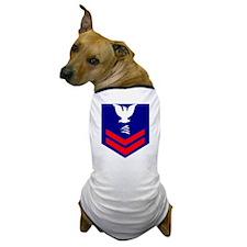 USCG-Rank-TC2 Dog T-Shirt