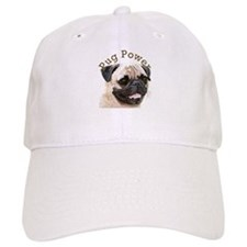 Pug Power Baseball Cap