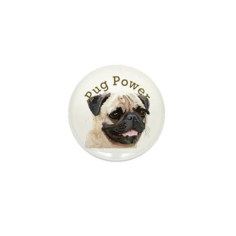 Pug Power Mini Button (100 pack)
