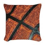 Basketball Woven Pillows