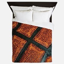 Old Basketball Pattern Queen Duvet