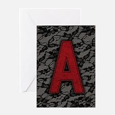 scarlet-a_8x12 Greeting Card