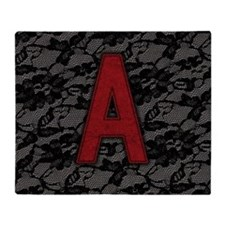 scarlet-a_square Throw Blanket