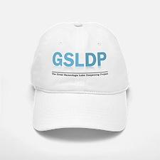 GSLdp-LOGO -blue-wTag-FINAL Baseball Baseball Cap