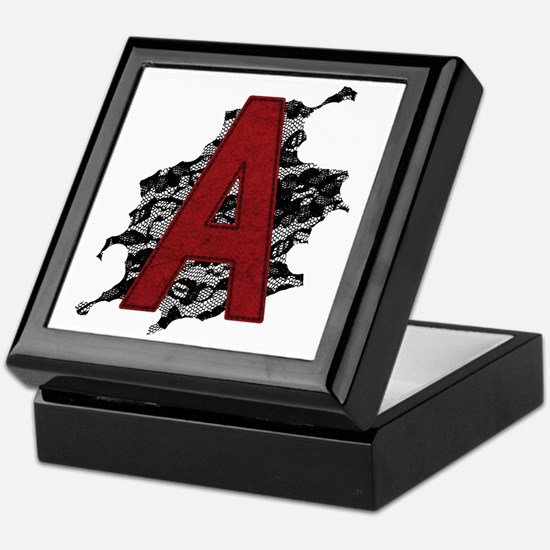 scarlet-a_tr2 Keepsake Box