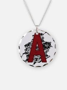 scarlet-a_tr2 Necklace