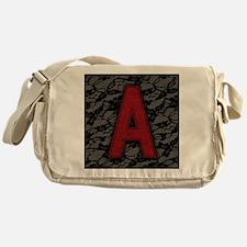 scarlet-a_9x12 Messenger Bag