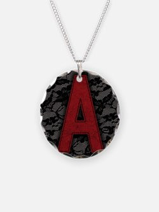 scarlet-a_9x12 Necklace