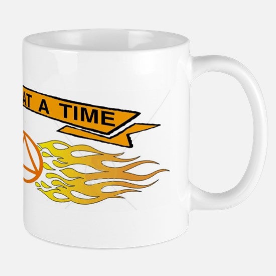 ONE DAY AT TIME STICKER Mug