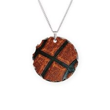 Old Basketball Pattern Necklace