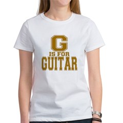 G is for Guitar Women's T-Shirt