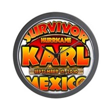 2-karl_cp_mexico Wall Clock
