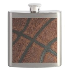 Old Basketball Pattern Flask