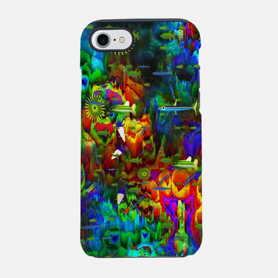 Coral Reef iPhone 7 Tough Case