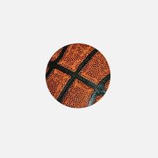 Old Basketball Pattern Mini Button