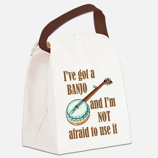iveGotBanjo Canvas Lunch Bag