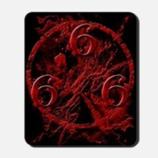 NumberOfTheBeast1Front-11x11 Mousepad
