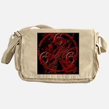 NumberOfTheBeast1Front-11x11 Messenger Bag