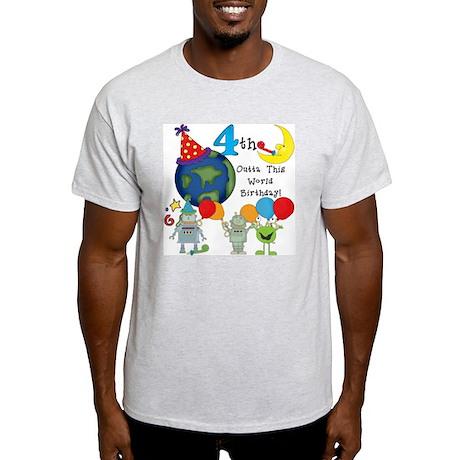 alienbday4 Light T-Shirt