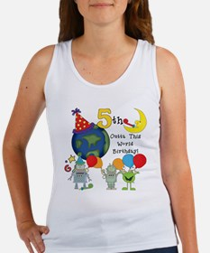 alienbday5 Women's Tank Top