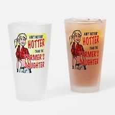 farmersdaughter Drinking Glass