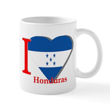 I love flag Honduras Mug